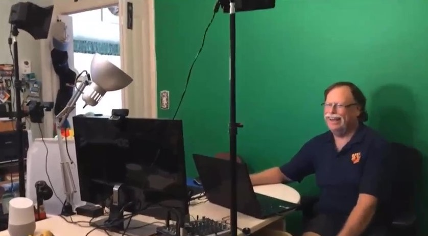 Replay: Workshop on Setting Up a Studio for Live Video
