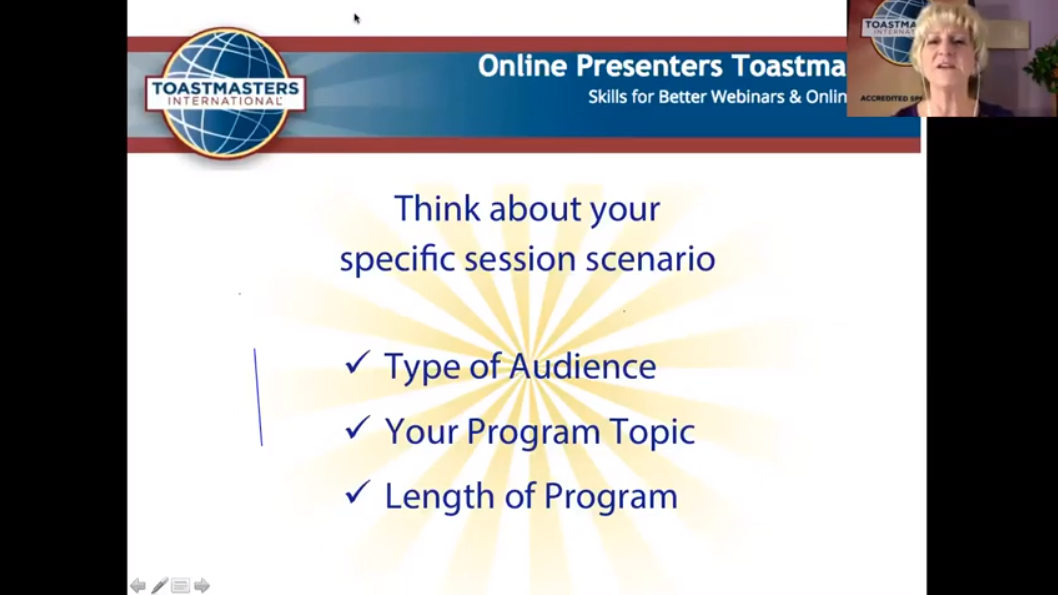 """Replay: """"How to Connect with ANY Audience,"""" with Sheryl Roush, DTM, Past District Governor, Accredited Speaker"""
