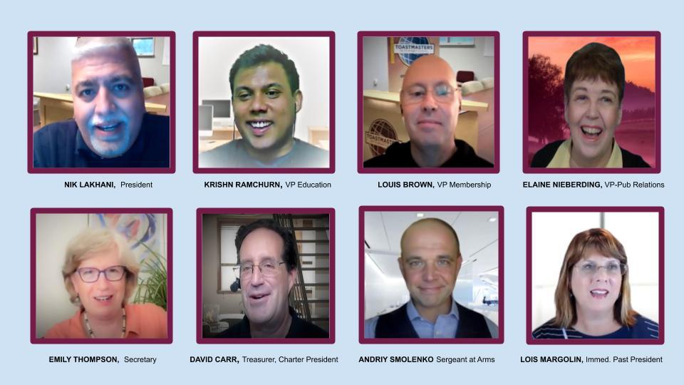 Online Presenters officers