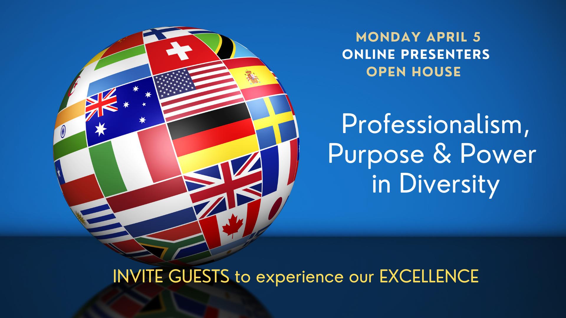 Online Presenters PRESS 3/28/21